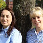 Miriam Garbe & Daniela Papert (Praxismanagement)